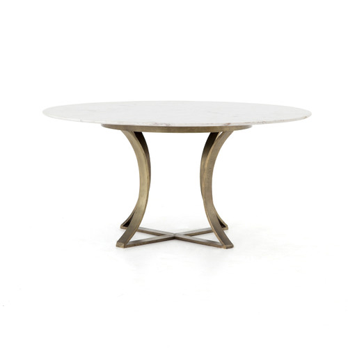 Iron & Marble Dining Table