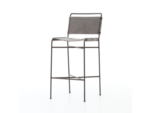 Arton Bar Stool - Grey