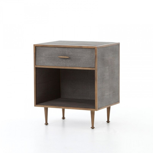 Bentley Nightstand - Brass