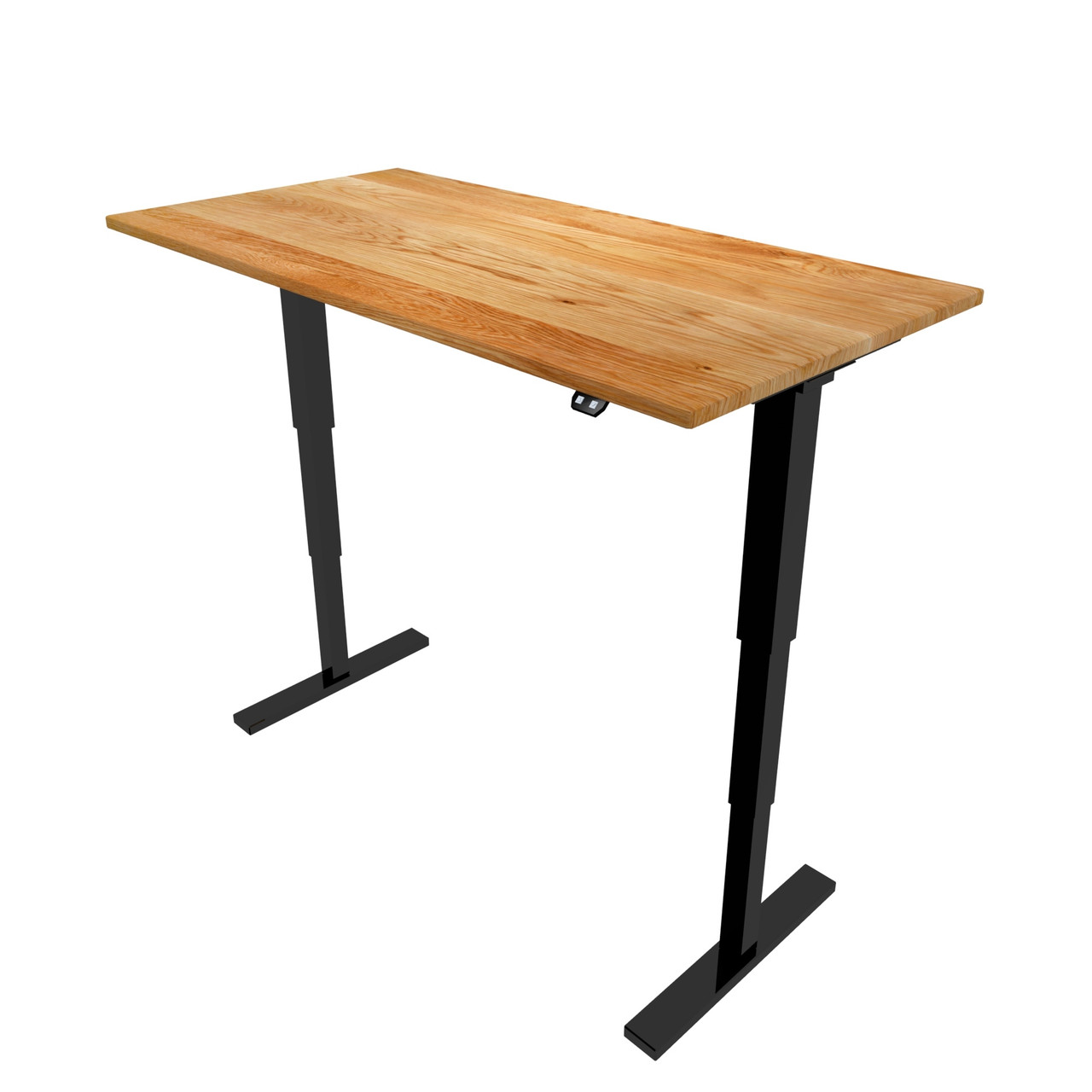 Black Adjustable Height Desk