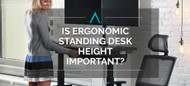 Is Ergonomic Standing Desk Height Important?