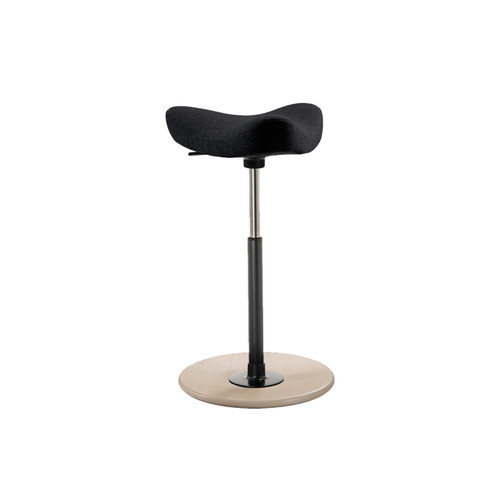 Marvelous Move Stool Black Theyellowbook Wood Chair Design Ideas Theyellowbookinfo