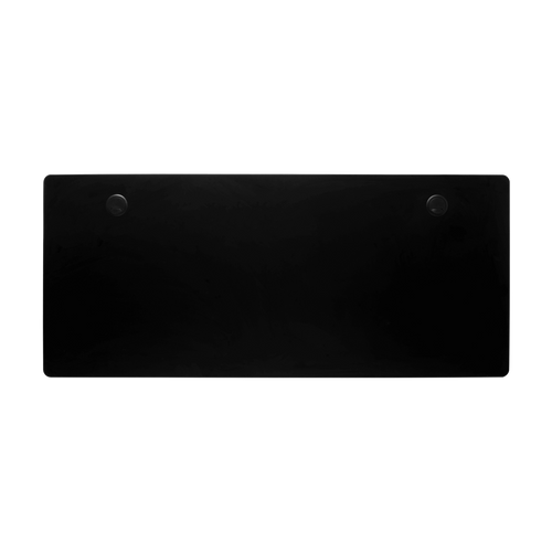 "Jet Black Desk Top - Surface Only, Large (60"" x 27"")"