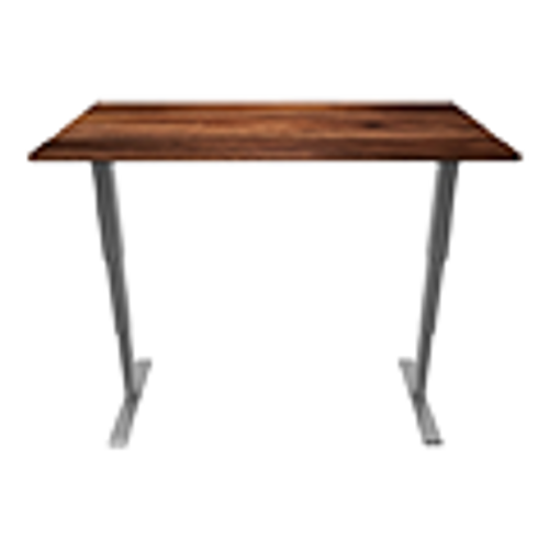 South American Walnut Sit-Stand Desk