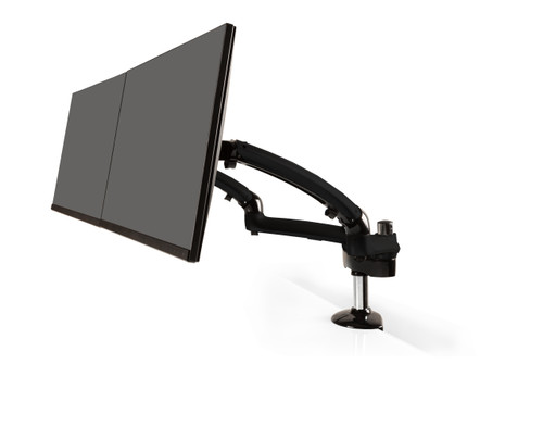 Freedom Dual Monitor Arm (Metal Gray)
