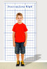 Chart your child's posture!