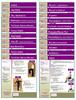 Posture Exercise customizable patient / client handouts