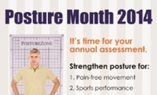 Promoting with Posture Month