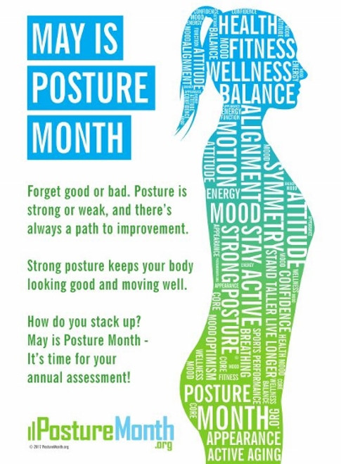 Posture Month Poster