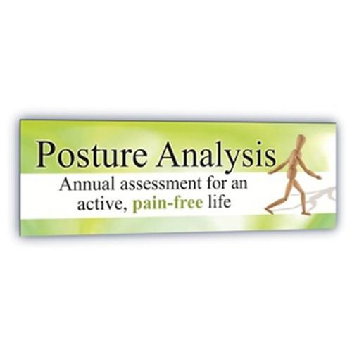 Horizontal Posture Screening Banner