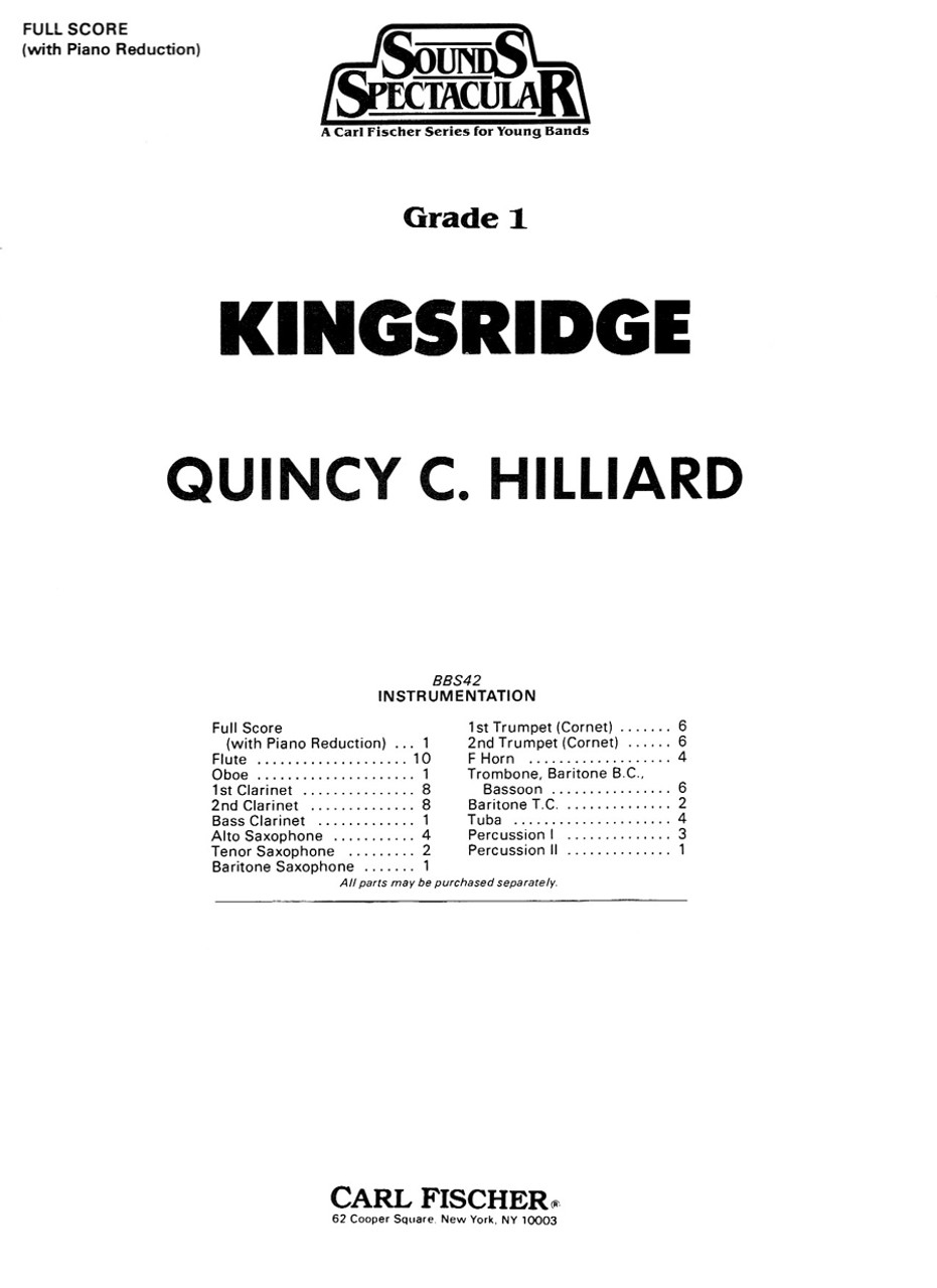 Hilliard, Kingsridge [CF:BBS42F]
