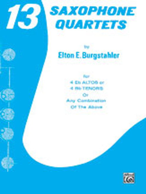 13 Saxophone Quartets [Alf:00-PROBK00805]