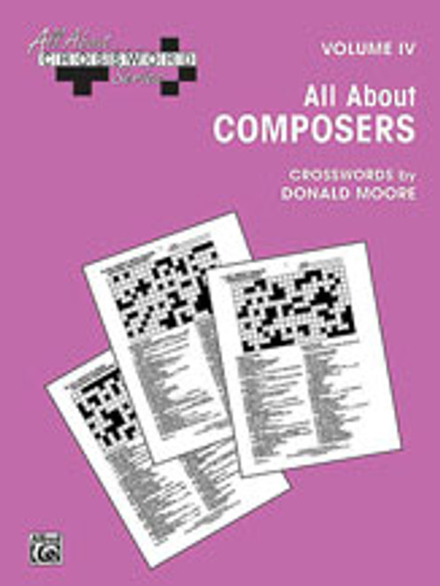 All About . . . Crossword Series, Volume IV -- All About Composers [Alf:00-SVB00109]