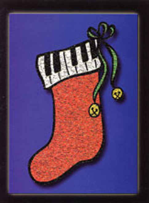 Greeting Cards: Christmas Stocking (Pack of 12) [Alf:44-4450PK]