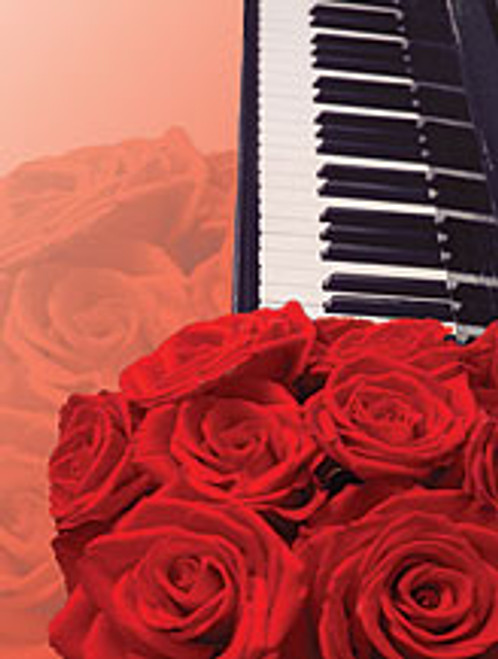 Greeting Cards: Roses and Keyboard (Pack of 12) [Alf:44-4451PK]