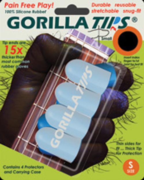 Gorilla Tips Fingertip Protectors Clear Size Small [Alf:98-GT101CLR]