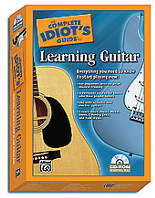 The Complete Idiot's Guide to Learning Guitar [Alf:00-28977]