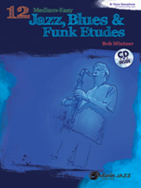 12 Medium-Easy Jazz, Blues & Funk Etudes [Alf:00-37014]