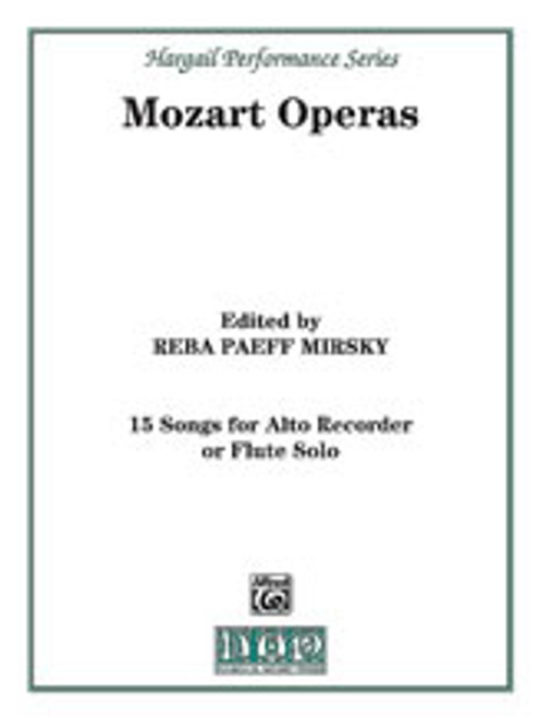 15 Songs from the Operas of Mozart [Alf:00-H28]