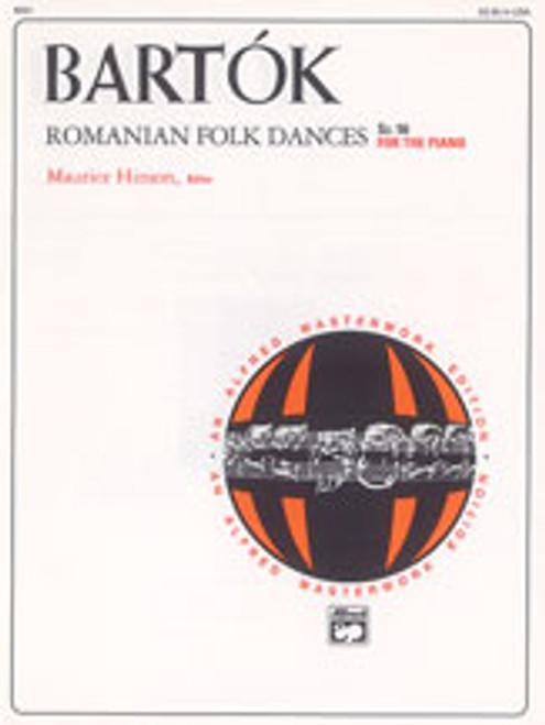 Bartok, Romanian Folk Dances, Sz. 56 for the Piano  [Alf:00-8091]