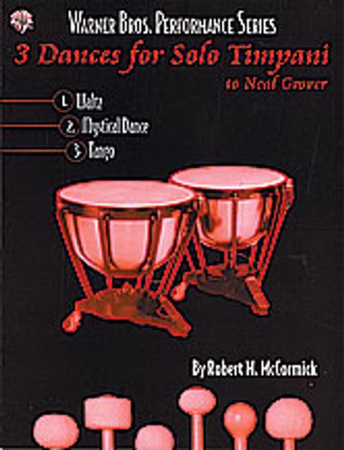 3 Dances for Solo Timpani [Alf:00-0459B]