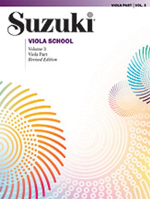 Suzuki Viola School Viola Part, Volume 3 [Alf:00-0243S]