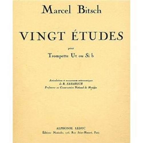 20 Etudes (Bitsch) [Led:AL21316]