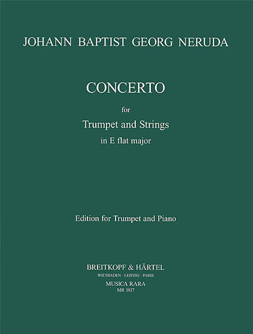Concerto in Eb (Neruda) [Breit:MR1817A]