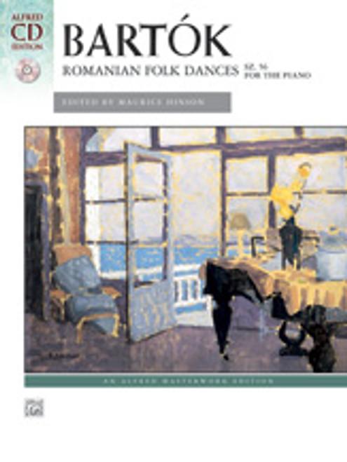 Bartok, Romanian Folk Dances, Sz. 56 for the Piano  [Alf:00-37158]