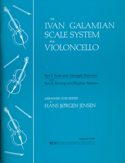 Galamian, The Galamian Scale System for Violoncello (Volume 1) [ECS:1.3282]