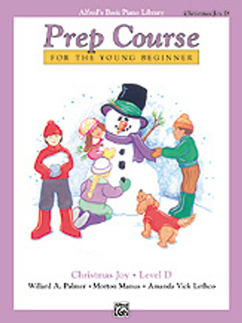 Alfred's Basic Piano Prep Course: Christmas Joy! Book D [Alf:00-6479]