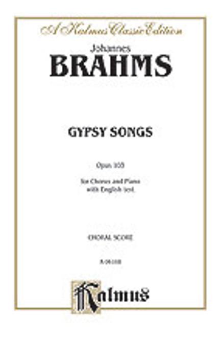 Brahms, Gypsy Songs, Op. 103 [Alf:00-K06101]