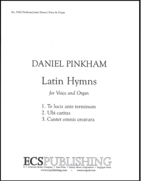 Pinkham, Latin Hymns (Three) [ECS:7165]
