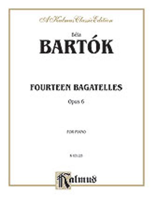 Bartok, 14 Bagatelles, Op. 6 [Alf:00-K03123]