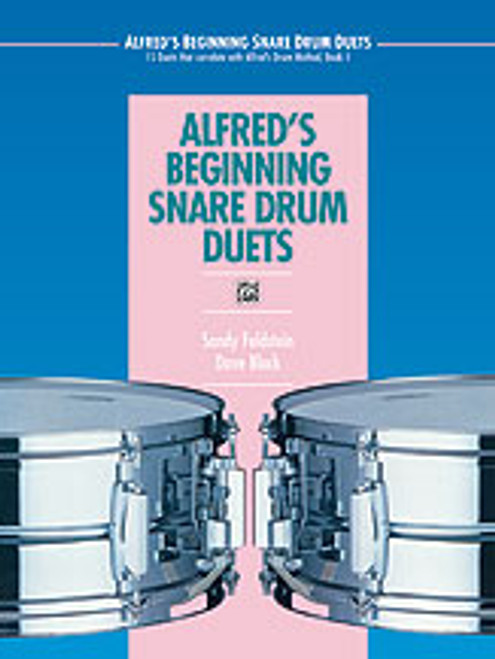 Alfred's Beginning Snare Drum Duets  [Alf:00-4301]