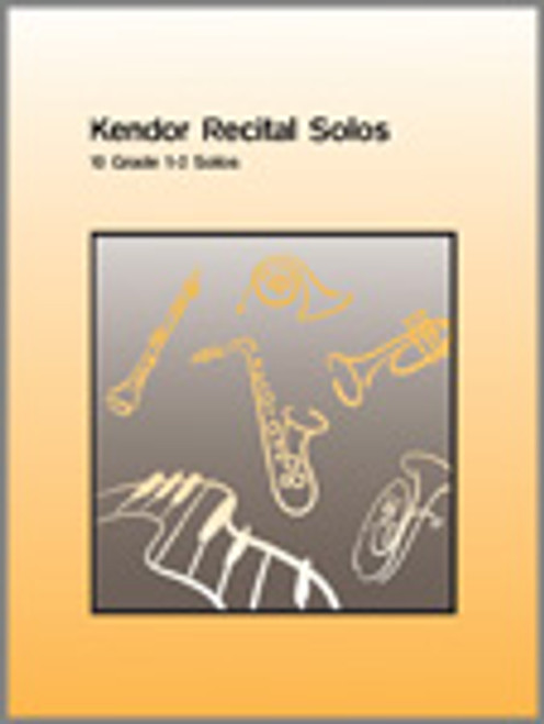 Kendor Recital Solos - Trumpet (Solo Book w/CD) [Ken:10339]