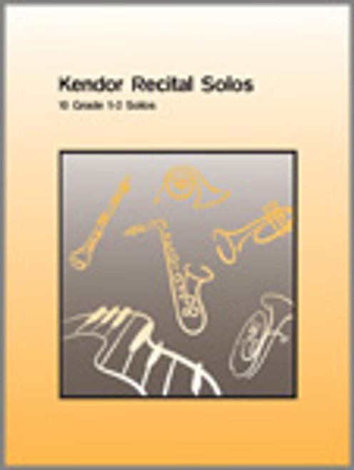 Kendor Recital Solos - Trombone (Solo Book w/CD) [Ken:10343]