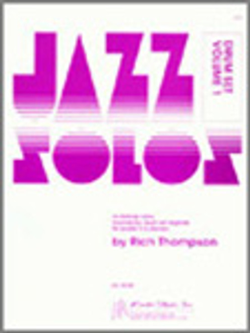 Jazz Solos For Drum Set, Volume 1 [Ken:13548]