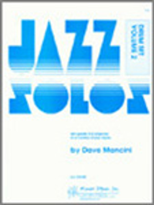 Jazz Solos For Drum Set, Volume 2 [Ken:13549]