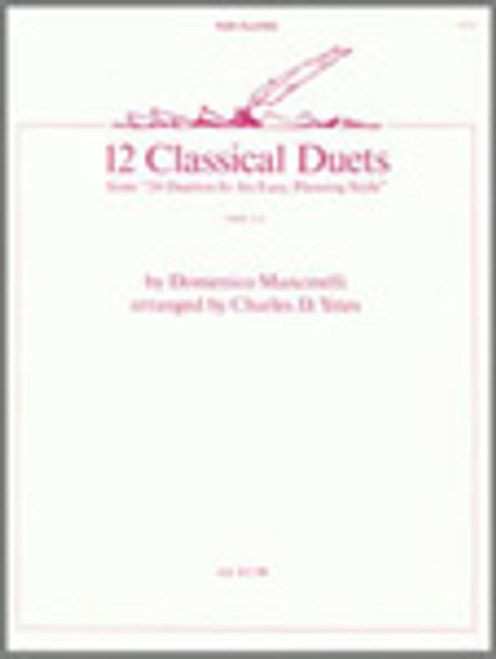 12 Classical Duets (from 24 Duettos In An Easy, Pleasing Style) [Ken:14273]