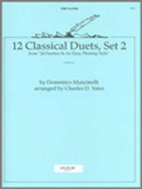 12 Classical Duets, Set 2 (from 24 Duettos In An Easy, Pleasing Style) [Ken:14274]