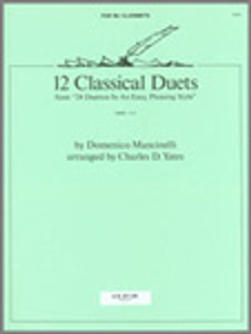 12 Classical Duets (from 24 Duettos In An Easy, Pleasing Style) [Ken:14913]