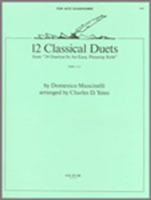 12 Classics Duets (from 24 Duettos In An Easy, Pleasing Style) [Ken:15881]