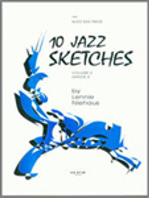 10 Jazz Sketches, Volume 2 (altos) [Ken:15906]