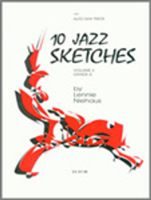 10 Jazz Sketches, Volume 3 (altos) [Ken:15908]