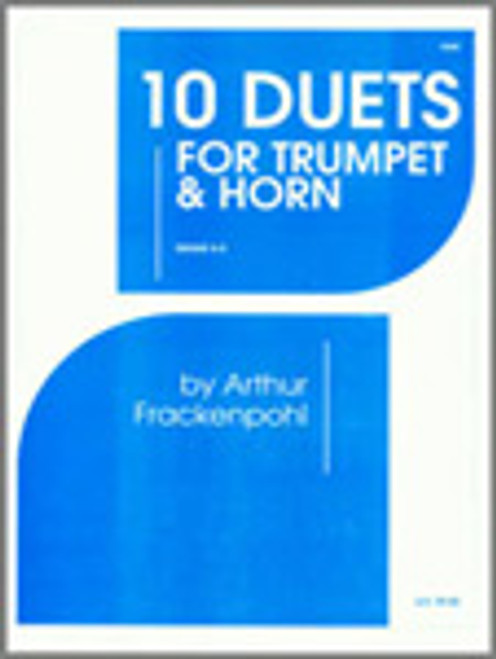 10 Duets For Trumpet And Horn [Ken:18260]