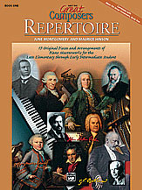 Meet the Great Composers: Repertoire, Book 1 [Alf:00-17248]