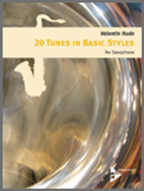 20 Tunes In Basic Styles For Saxophone [Ken:AM07078]