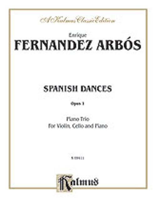 Arbos, Spanish Dances, Op. 1 [Alf:00-K09411]