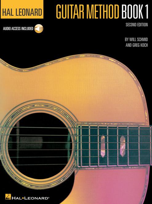 Hal Leonard Guitar Method Book 1 – Second Edition Book/Online Audio Pack [HL:699027]